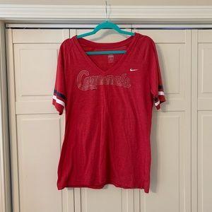 Nike Cardinals V-Neck